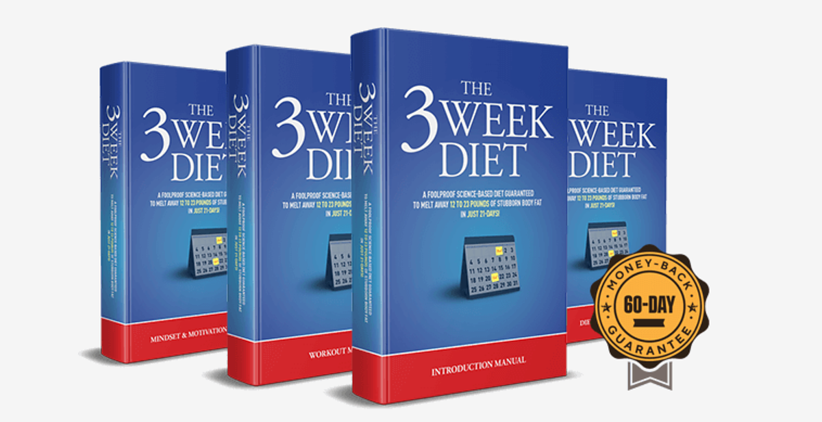3 Week Diet Manuals